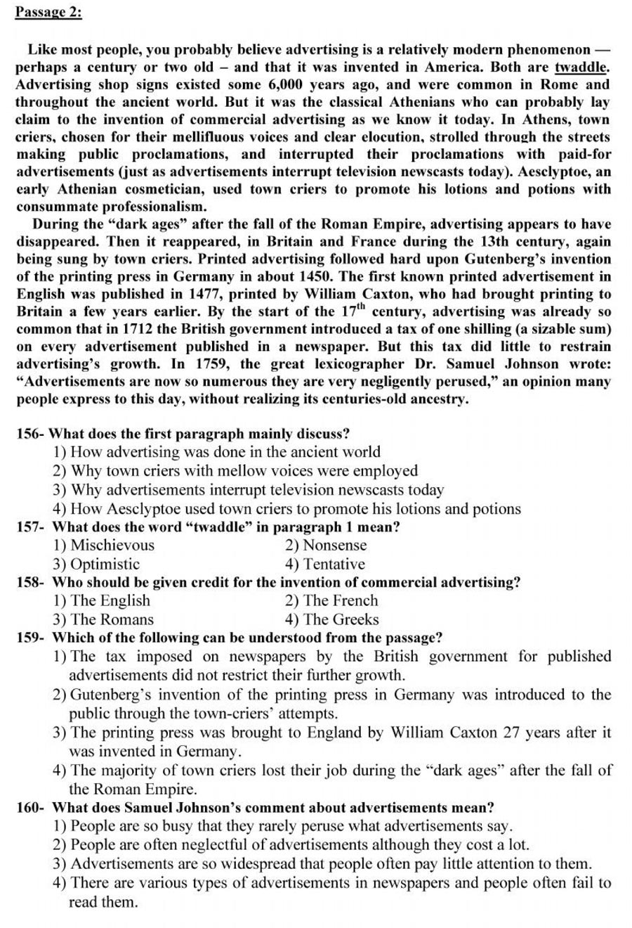 سوالات درک مطلب دکتری 96